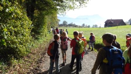 Herbstwanderung 3. Klasse